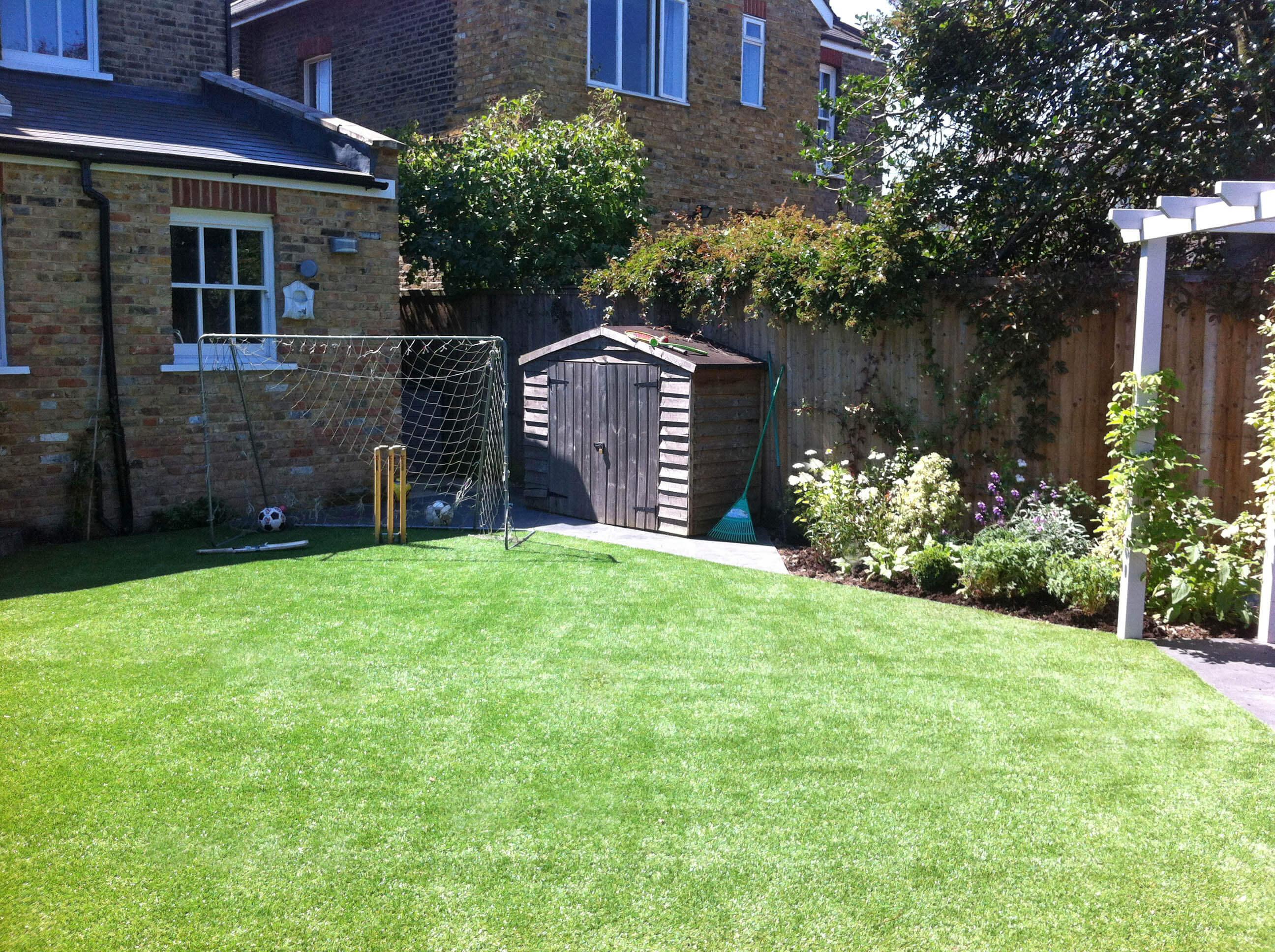 3. Pippa's family garden