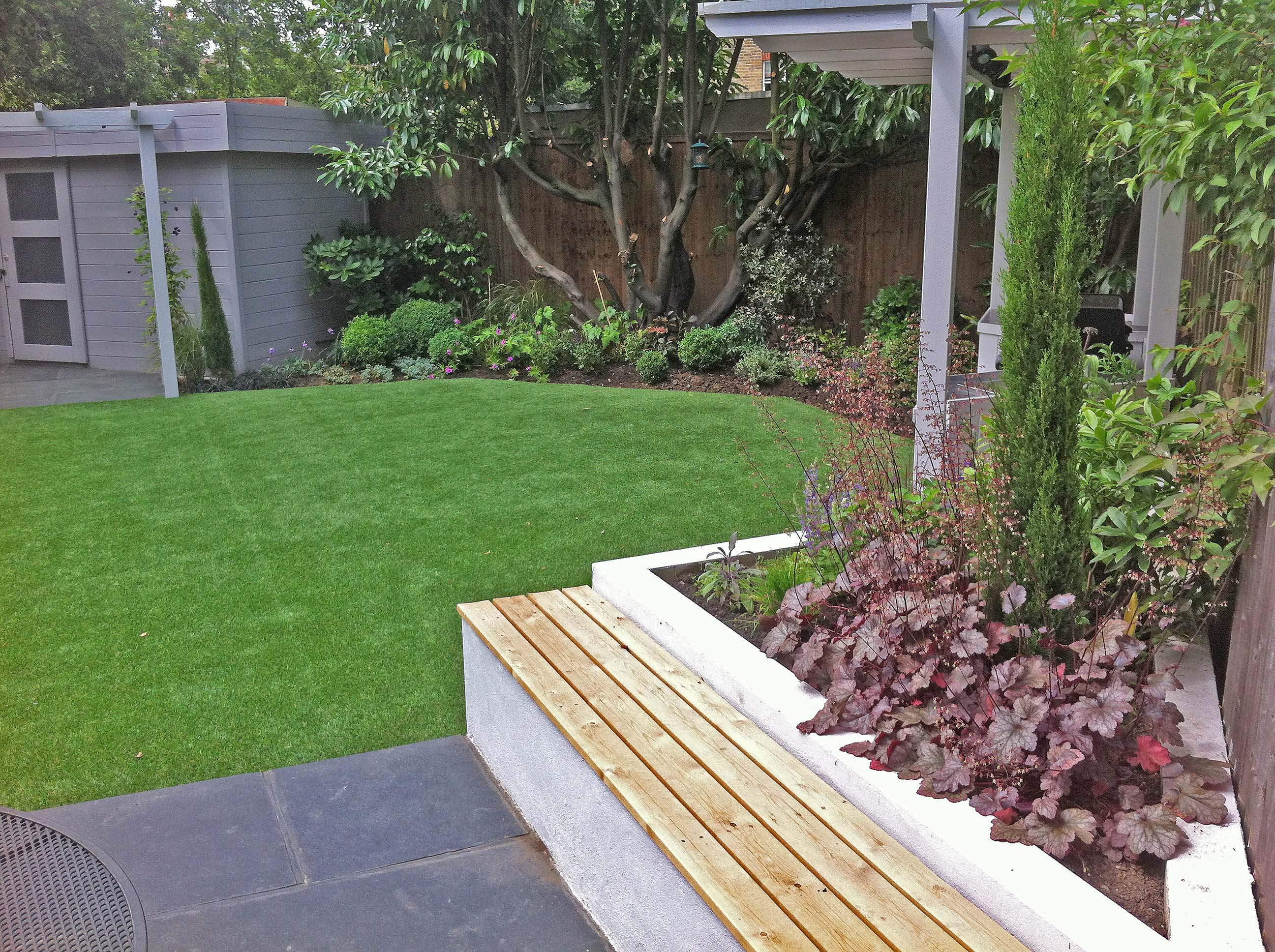 4. Pippa's family garden