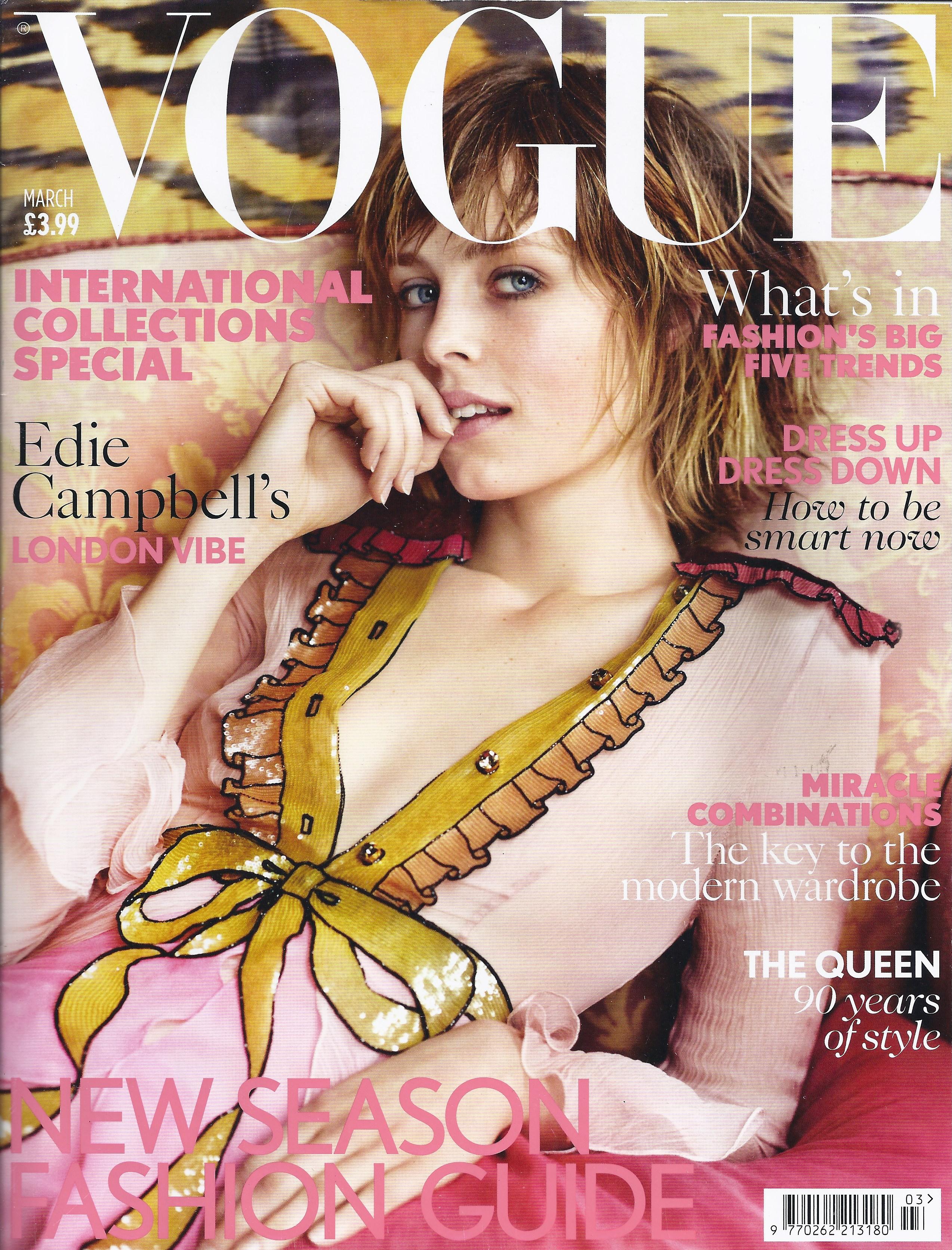Vogue March 2016