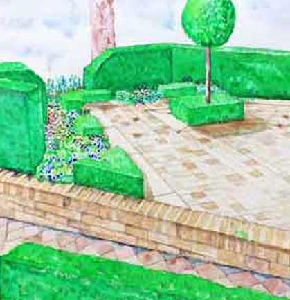 Outer space garden design outer space landscape landscape for Outer space design australia