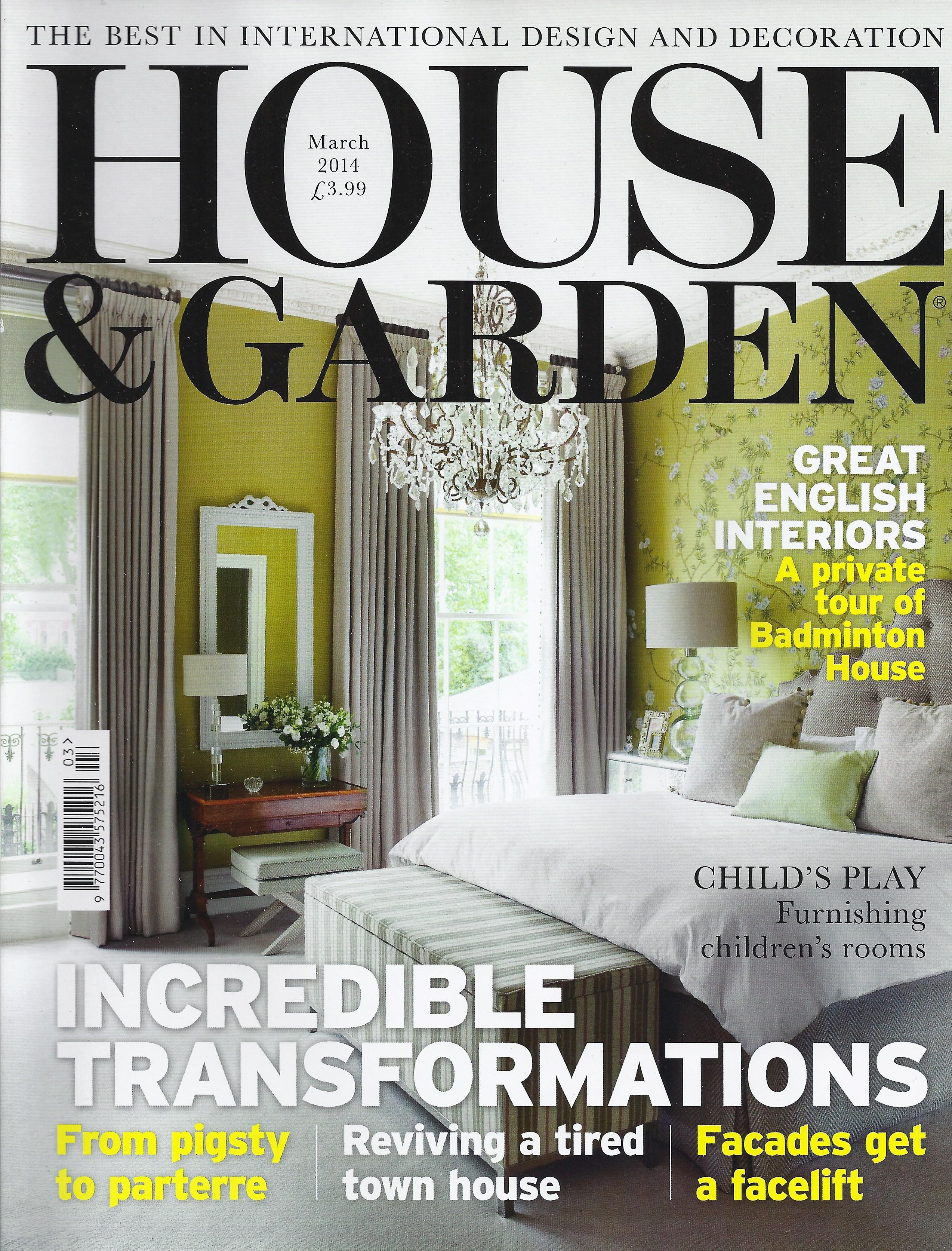 House & Garden 2014