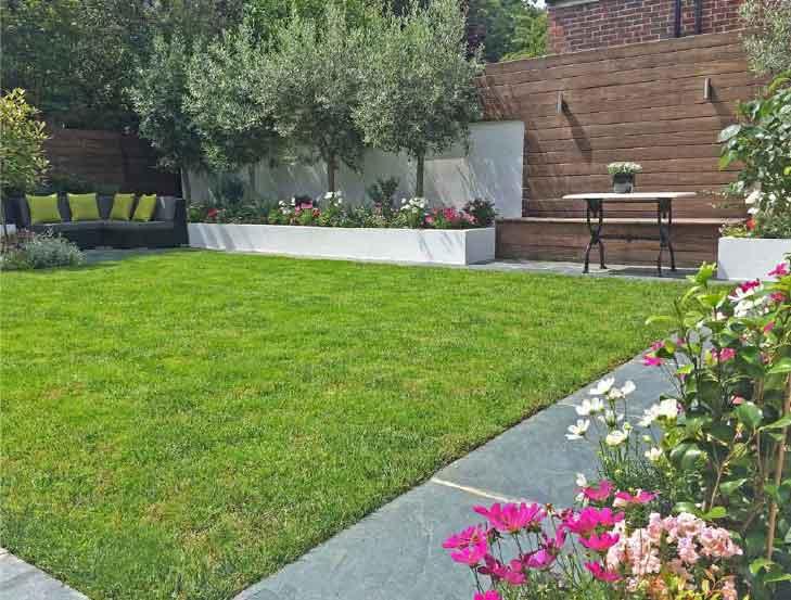 Emilia and Stratos' garden